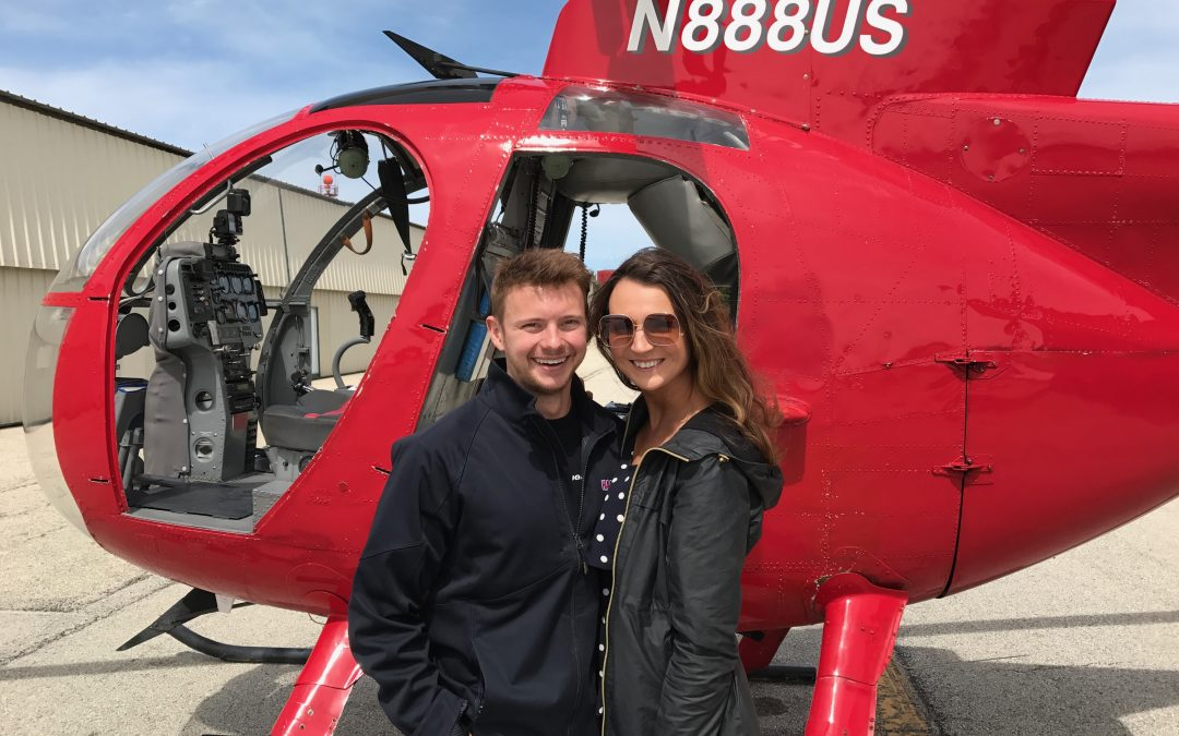 The most romantic way to spend Valentine's Day: Helicopter ride over Chicago